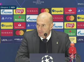 Zidane said he will not step down. Screenshot/RealMadrid