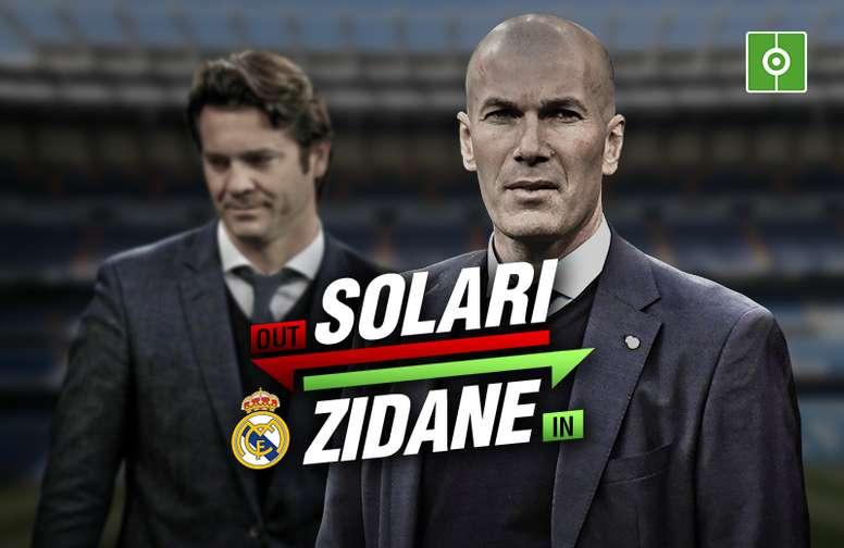 Zidane volta a treinar o Real Madrid. BeSoccer