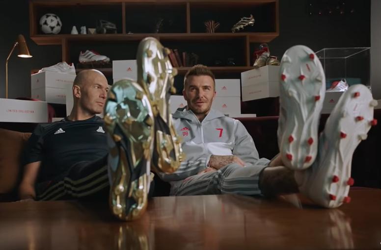 Al aire libre Gran engaño Dando  El anuncio de Zidane y Beckham... con un guiño a Pogba - BeSoccer