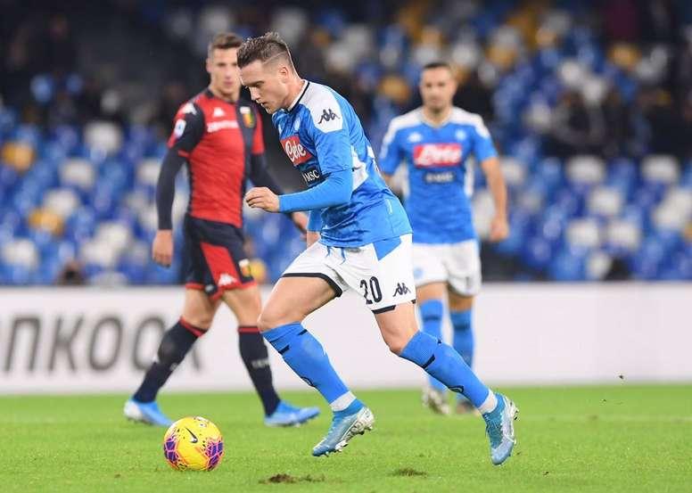 Il Napoli pareggia contro il Genoa. AFP