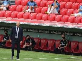 Zidane explicou a ausência de James. EFE