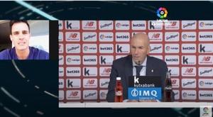 Zidane commenta la vittoria. LaLiga