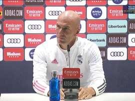 Conférence de presse de Z.Zidane. Capture d'écran/RMTV