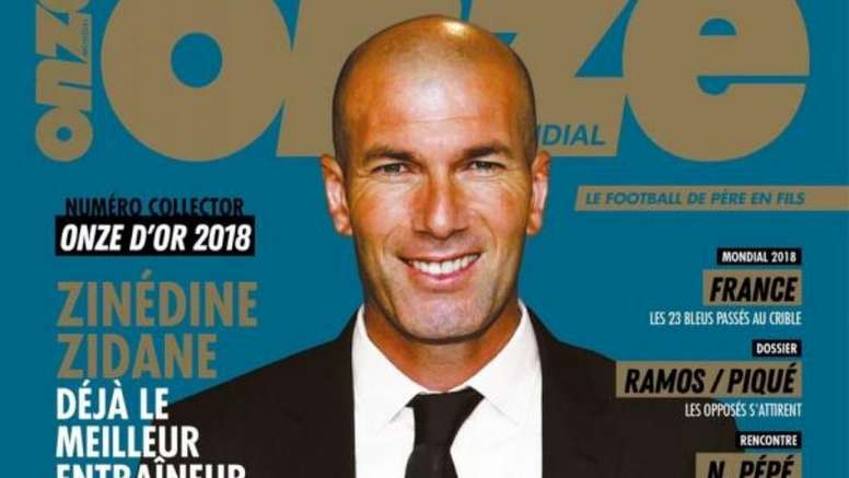 Zidane received yet another accolade this season. OnzeMondial