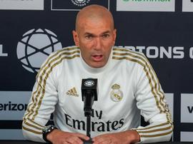 Zidane s'est montré conciliant avec Bale après la rencontre. Capture/RealMadridTV