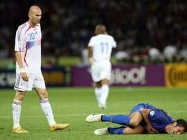 Cannavaro revient sur la finale. AFP
