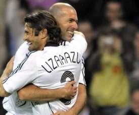 Bixente Lizarazu fala sobre Zidane. AFP