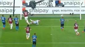 Ibrahimovic vuelve a la carga. Captura/Vamos