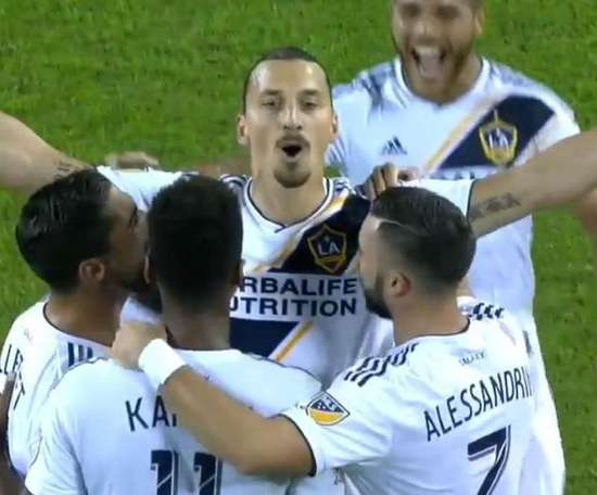Ibrahimovic will look to lead LA Galaxy to the play-offs. MLS
