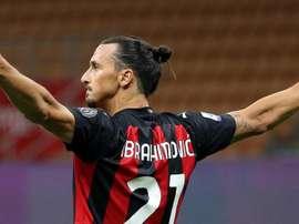 Zlatan au Benfica. afp
