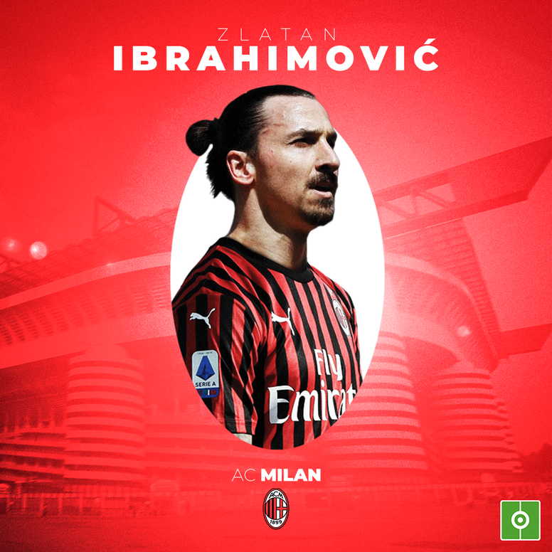 OFFICIAL: Zlatan Ibrahimovic signs for AC Milan. BeSoccer