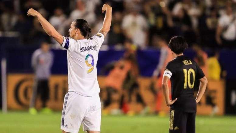 Carlos Vela sente a falta de Ibrahimovic. LAGalaxy