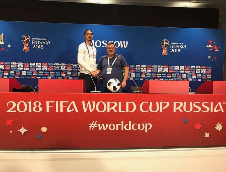 Raiola ha vuelto a hablar de Ibrahimovic. Twitter/Ibrahimovic