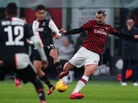 Les compos probables entre l'AC Milan et la Juventus. Twitter/ACMilan