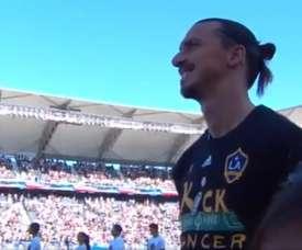 MVP selon Zlatan. Capture/MLS