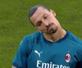 Ibrahimovic porta in vantaggio il Milan. Live+
