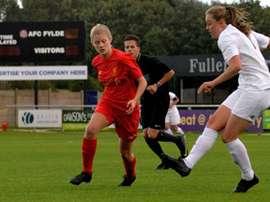 Zoe Tynan, futbolista internacional con Inglaterra. Selección Inglesa