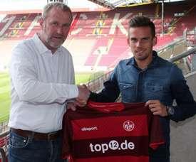 Stieber deja la Bundesliga y jugará en la segunda categoría. Kaiserslautern