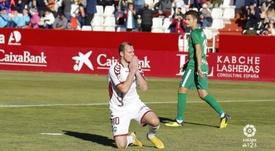 El Albacete defendió a Zozulya. LaLiga