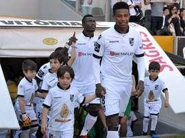 O médio defensivo do V. Guimarães tem surpreendido com as boas exibições. Facebook
