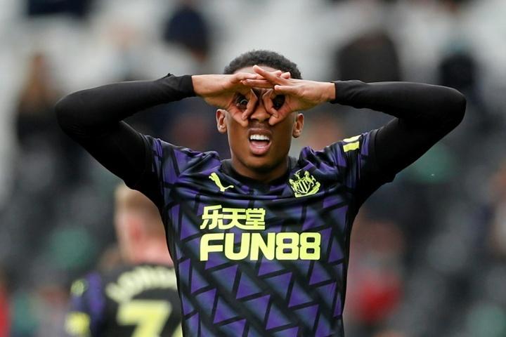 Willock impressed on loan at Newcastle last season. AFP