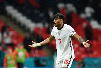 Tyrone Mings speaks out about his mental health problems. AFP