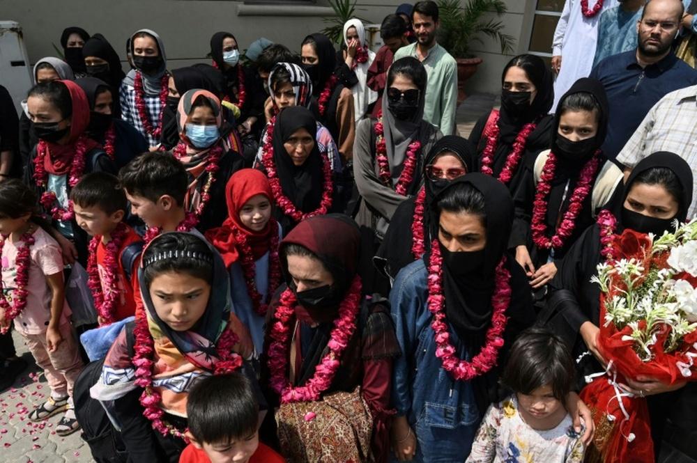 Afghan girls' football team flees to Pakistan. AFP
