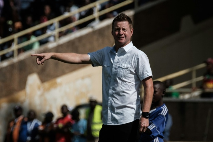 Dylan Kerr won the South African Cup in just his second match as TTM coach. AFP