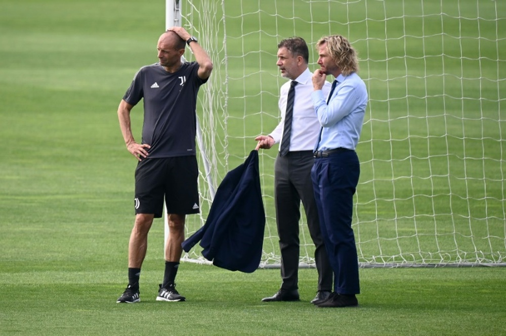 Allegri's Juve rebuild off to rocky start following Ronaldo exit. AFP