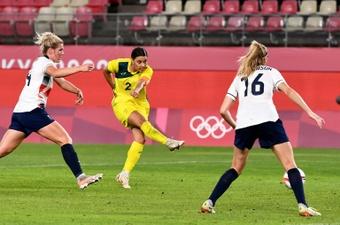 Australia stun Team GB as Canada make Olympic women's football semis