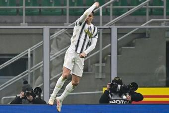 Cristiano Ronaldo's two goals gave Juventus a 1-2 win at Inter Milan. AFP