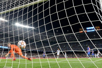 Barça outplayed once again by the German giants. AFP