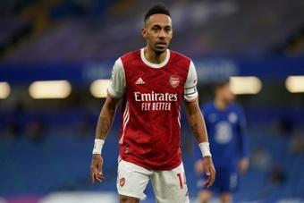 Arteta says Pierre-Emerick Aubameyang will stay at Arsenal. AFP