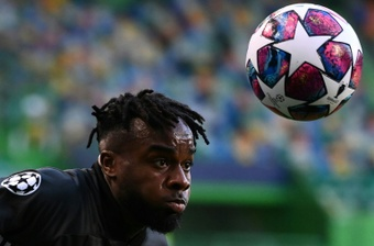 Maxwel Cornet has signed for Burnley from Lyon. AFP