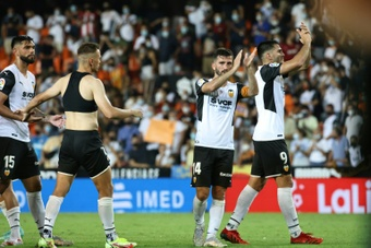 Valencia started their La Liga campaign with a win. AFP