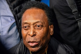 Pele 'punching the air' and getting 'better every day'.