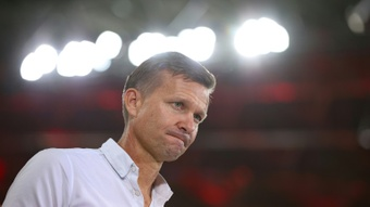 Jesse Marsch admits his team may not be ready to face City in the Champions League. AFP