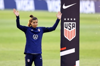 Tobin Heath has signed for Arsenal. AFP