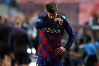 Barcelona face Bayern again, without Messi, after year of upheaval and change. AFP
