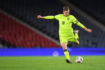 Czech playmaker Provod to miss Euro with knee injury. AFP