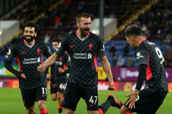 Liverpool moved a step closer to the Champions League after victory over Burnley. AFP