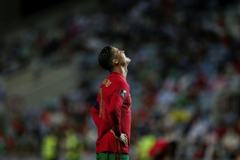 Cristiano Ronaldo wants to get on scoring many more goals for Portugal. AFP
