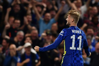 Timo Werner wants to end his struggles at Chelsea. AFP
