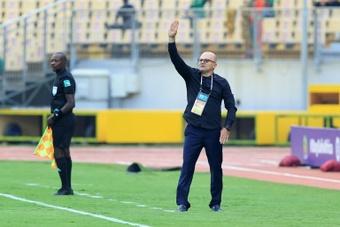 Zdravko Logarusic has been sacked by Zimbabwe. AFP