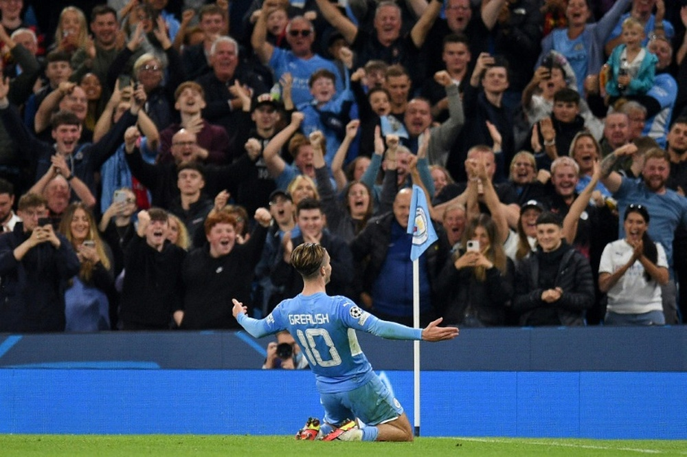 City grabs the win in a 9-goal thriller. AFP