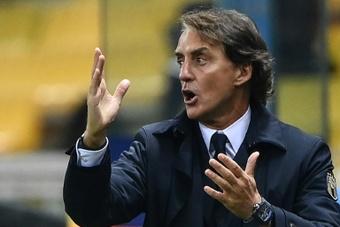 Mancini names injured Verratti, Sensi in Italy's Euro 2020 squad. AFP