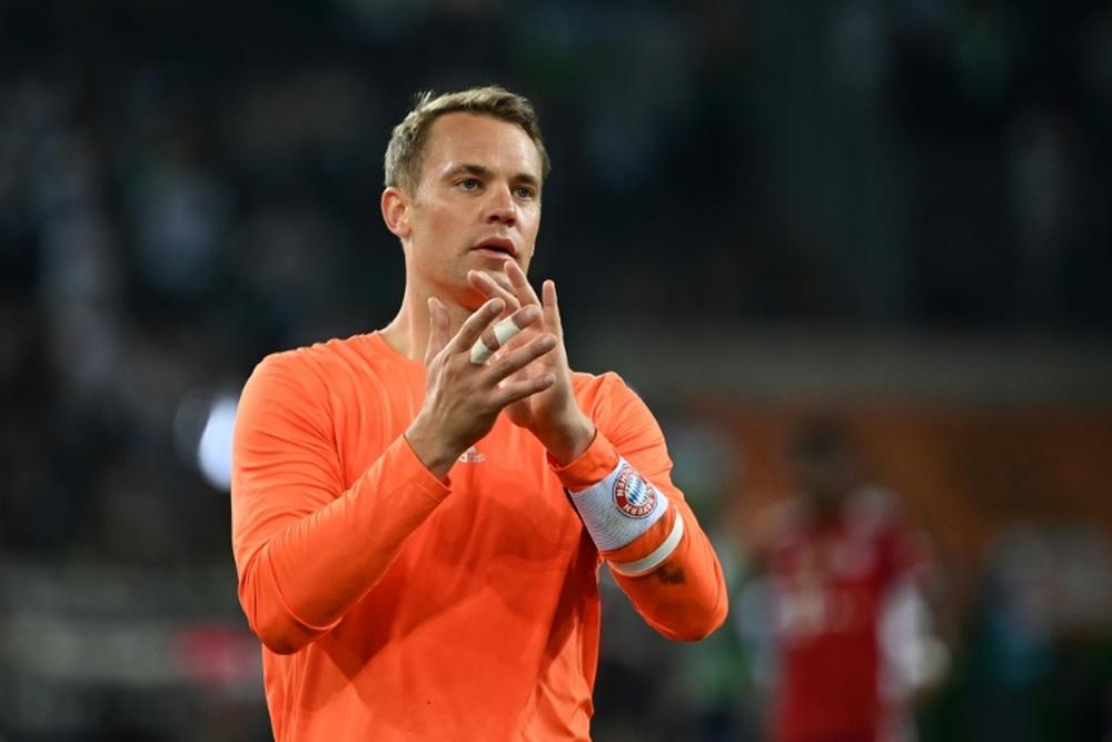 Germany captain Manuel Neuer misses the World Cup qualifier against Liechtenstein. AFP