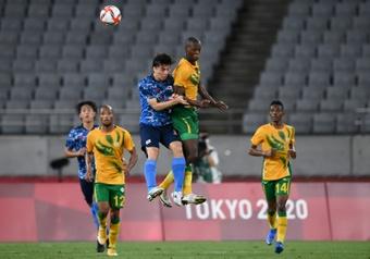 South Africa coach Notoane slams Covid 'stigmatisation'. AFP