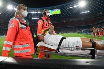 Leonardo Spinazzola's ruptured Achilles has been confirmed. AFP