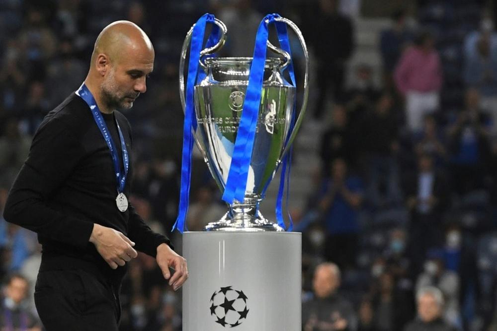 Champions League final pain a 'motor' for Man City, says Guardiola. AFP
